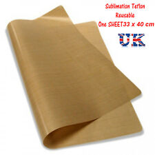 More details for heat press sheet  - ptfe teflon reusable free postage / for sublimation