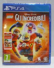 LEGO GLI INCREDIBILI PLAYSTATION 4 PS4 DISNEY PIXAR NUOVO SIGILLATO ITA