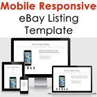 Template Ebay Listing 2021 Auction Design Responsive Professional Compliant Html