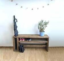 Rustic Shoe / Umbrella Storage Bench