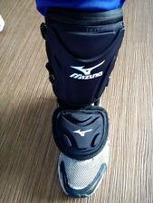 MIZUNO Baseball Softball Batter Ankle Shin Foot Guard Batting Protective Black