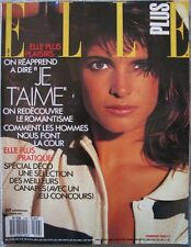 French Elle 87 Stephanie SEYMOUR Harrison FORD Christian Lacroix Carine Roitfeld
