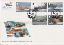 Unaddressed Isle of Man FDC First Day Cover 1999 RNLI 175 Years Saving Lives