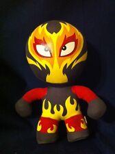 "AURORA WORLD  Plush 8"" Burnie Lucha Libre Mexican Wrestler"