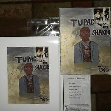 Shakur Giclee ART on Giclee Museum Lithograph limited Edition 1 OF 25 Print Z*S