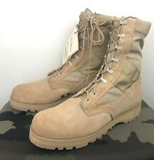 US MILITARY Hot Weather Army Combat Boots | 14.5 R - TAN - NEW IN BOX