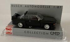 "Busch 40300 Ho Gauge 1:87 BMW 3,5 Csl "" Cmd-Collection "", Black # New in Boxed#"