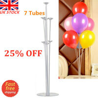 Balloons Column Stand 1 Set 70cm Balloon Support with 7 Tubes Party Decor Supply