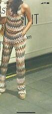 100% Authentic Multicoloured Summer Missoni Jumpsuit Eu 40 Uk6,8,10