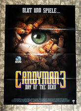 CANDYMAN 3 * A1-VIDEO-POSTER - German 1-Sheet ´00 Candyman: Day of the Dead