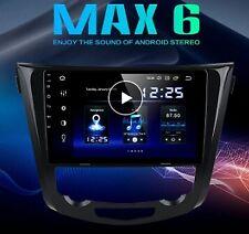 """AUTORADIO Navigatore Nissan Qashqai Xtrail 10"""" Android 9 PX6 360 CARPLAY + DAB"""