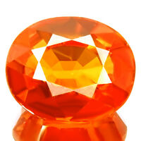 4.77ct FANTASTIC MANDARIN FANTA ORANGE SPESSARTITE GARNET SPARKLING NATURAL GEM!