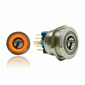 Trigger Billet Button :: Orange Illumination trigger horns TRGA5 trigger horns