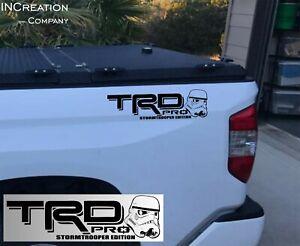 Fits Toyota Tacoma Tundra Stormtrooper TRD Pro Decals Vinyl Star Wars graphics