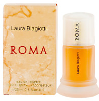 Roma by Laura Biagiotti For Women EDT Perfume Spray 0.8oz New In Box