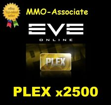EVE Online PLEX | 2500 PLEX | Worth ~7 Billion isk | Fast