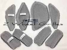 2007-2014 CAN AM SPYDER GS RS ST BLACK FAIRING & TAIL SCREENS GRILLS MESH VENTS