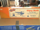 """Peck Polymers Peanut Scale Gipsy Moth 13"""" wingspan pp-11"""