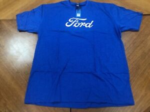 Official Ford T-Shirt Blue with white Ford Logo