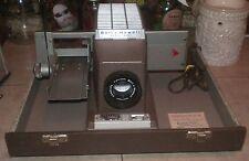 Vintage Bell & Howell Selectron Headliner Portable Slide Projector in Case READ