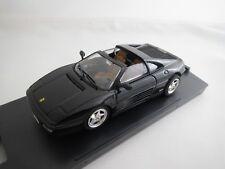 """Bang/Revell  Ferrari  348  ts  """"Stradale""""  (schwarz)  1:43  OVP !"""