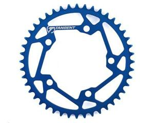 Tangent Halo 5-Bolt Chainring (Blue)