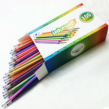 100 Gel Pen Refills - Ideal for Adult Coloring, Scrapbooking, Crafts and more!