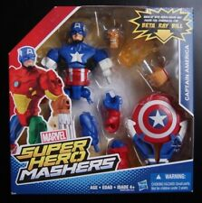 Marvel Super Hero Mashers CAPTAIN AMERICA action figure (Beta Ray Bill Mash-up!)