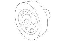 Genuine GM Pulley 14023147