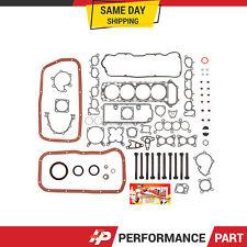 Full Gasket Set Head Bolts for 90-92 Nissan Axxess Stanza 2.4L KA24E SOHC