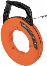 Klein Tools 56333 Fish Tape Steel Wire Puller With Double Loop Tip