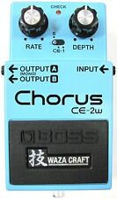 Used Boss CE-2W Waza Craft Chorus Guitar Effects Pedal!