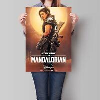 Star Wars The Mandalorian Cara Dune Poster A5 A4 A3 A2 A1 Ebay