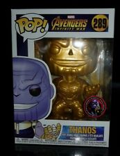 The Avengers Infinity War GOLD Thanos Pop Vinyl Figure Funko RARE