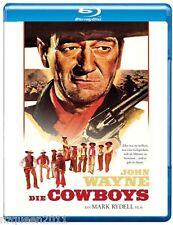 Die Cowboys [Blu-ray] John Wayne, Bruce Dern, Colleen Dewhurst * NEU & OVP *