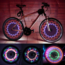 Bicycle Accessories Hearty 32 Led Patterns Cycling Bikes Bicycles Rainbow Wheel Signal Tire Spoke Light Bicycle Light