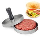 Hamburger Patty Maker Grill Press Large Round Burger Metal Mold Kitchen DIY