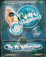 Yu-Yu HAKUSHO GHOST FILES 1ST EDITION SEALED BOOSTER BOX X1 & 2 1ST ED. STARTERS