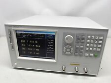Agilent / Hp 4287A 1 Mhz to 3 Ghz Rf Lcr Meter with Fresh Calibration!