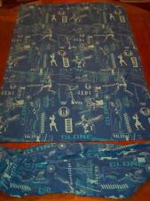 Star Wars The Clone Wars TWIN SIZE SHEET SET FABRIC YODA ANAKIN OBI WON KENOBI