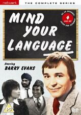 Mind Your Language Series 1 + 2 + 3 TV Season 3 2 1 Region 4 New DVD (4 Discs)