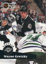 New listing Wayne Gretzky 1991-92 Pro Set #574 Kings Hockey Card