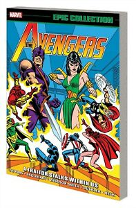 AVENGERS EPIC COLLECTION TP A TRAITOR STALKS AMONG US (MARVEL 2021) 32921
