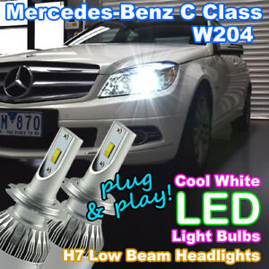 #M73 Mercedes-Benz C Class W204 LED Headlight Low Beam Upgrade (CANBUS H7 Bulbs)