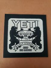 Official Yeti Wildly Stronger Keep Ice Longer Sticker