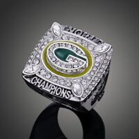 Men's Sport Ring 2010 Green Bay Packers Championship Ring Sport Fans Gift