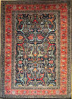 Hand-knotted Rug (Carpet) 8'9X12'2, Sarouk mint condition