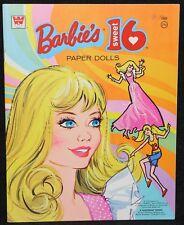 Paper Dolls 1974 Barbie Sweet 16 Whitman #1981 Original Unused Uncut