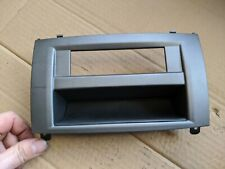 PEUGEOT 407 SW 2006 DASHBOARD DISPLAY SCREEN PLASTIC TRIM SURROUND