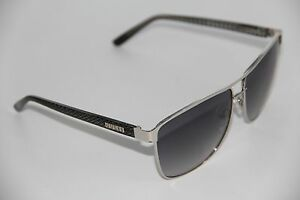 NEW GUESS BY MARCIANO GUF 255 SI-35 BLACK FRAME AUTHENTIC SUNGLASSES 61-12
